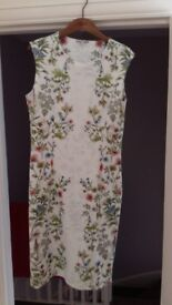 Next ladies dress size 14 worn once for wedding £15