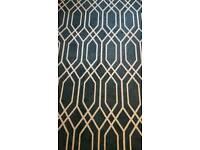 Large summer blue rug