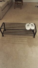 Moving sale shoes rack