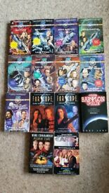 BABYLON 5 AND FARSCAPE BOOKS