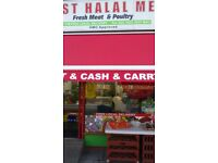 Meat shop for sale- Ley Street £20,000