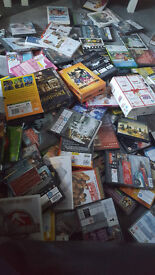 100+ DVD's for sale and DVD/Blueray player