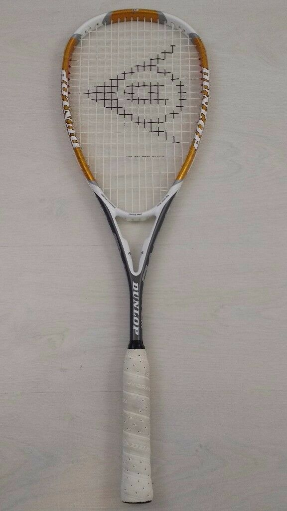 Nearly New Dunlop EVO Titanium squash rackets Only used few times