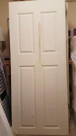Internal Door 4 panel smooth - size 1981x838x35mm