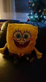 Sponge Bob lights up and speaks
