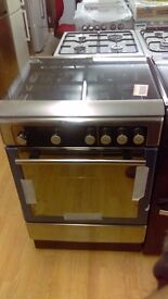 HOTPOINT Stainless Steel 60Cm Gas Cooker in Ex Display which may have minor marks or blemishes