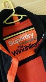 Superdry windhiker Jscket Size M Hardly worn.