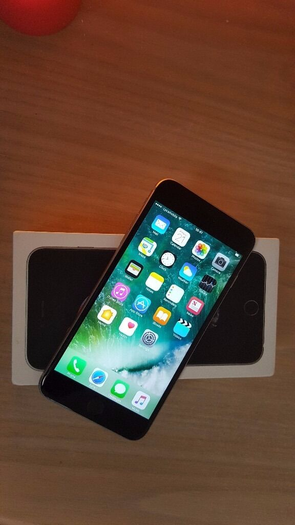 iPHONE 6S PLUS MINT LIKE NEW 16 GB UNLOCKED ORIGINAL BOX CHARGER325in Redbridge, LondonGumtree - iPHONE 6S PLUS FOR SALE IN IMMACULATE CONDITION LIKE NEW 16 GB SPACE GREY FACTORY UNLOCKED TO ALL NETWORKS ORIGINAL BOX AND NEW CHARGER ONLY £325 THANKS