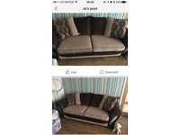 DFS brown sofa for sale.