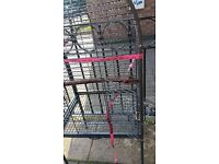 open top bird parrot cage NO OFFERS