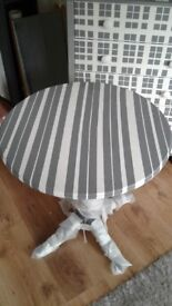 Bespoke hand painted stunning side table