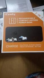 Led lantern rechargeable powerbank