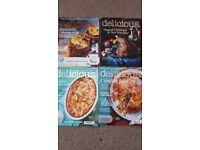 Delicious food magazine bundle