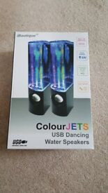 iboutique USB water speakers