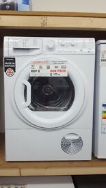 New graded hotpoint tumble dryer condenser 8kg for sale in Coventry 12 month warranty
