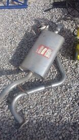 Exhaust MG ZR