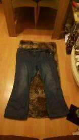Boot cut Evans jeans size 24