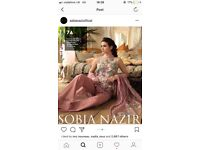 Sobia Nazir brand new stitched lawn suit. Style 7a