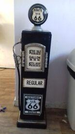 Unusual Gas station pump cd holder/slim cupboard