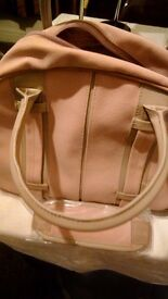 Antler overnight bags two,one grey ,one pink