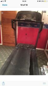 Large pro form electric treadmill
