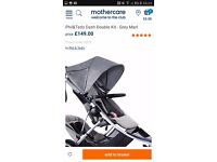 Phill and teds single pushchair