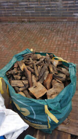 Logs , firewood, dry , hard wood for sale. £65 . Delivery available.