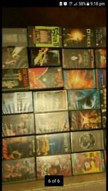 Over 100 vhs horror movies