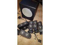 Logitech X-530 5.1 Computer speakers