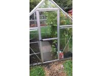 Green house 8foot by 6foot unbreakable PVC only 6month old