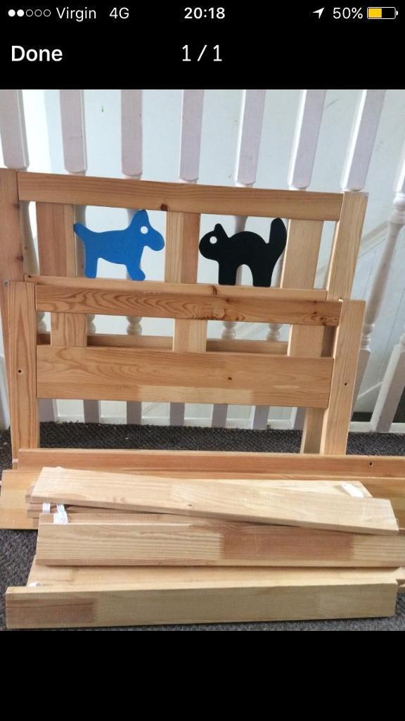 Ikea Junior Toddler Bed Kritter In Caerau Cardiff Gumtree