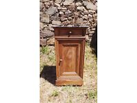 Vintage Retro French Bedside Table Cabinet - Chest Of Drawers Art Deco (9)