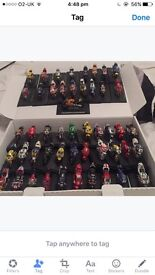 Collectors Diecast Moto GP bikes and World Rally Cars 92 altogether and in excellent condition