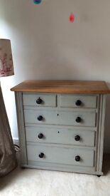 Antique Chest of drawers. Original paint.