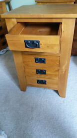 Solid Wood 5-Drawer Chest (2 available £60 each)