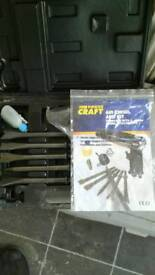 Air chisel and kit