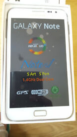 Samsung Galaxy Note in a Box with all the Accessories - SIM FREE UNLOCKED To All Networks