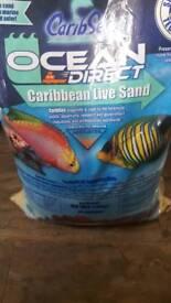 40lb Caribbean Live sand