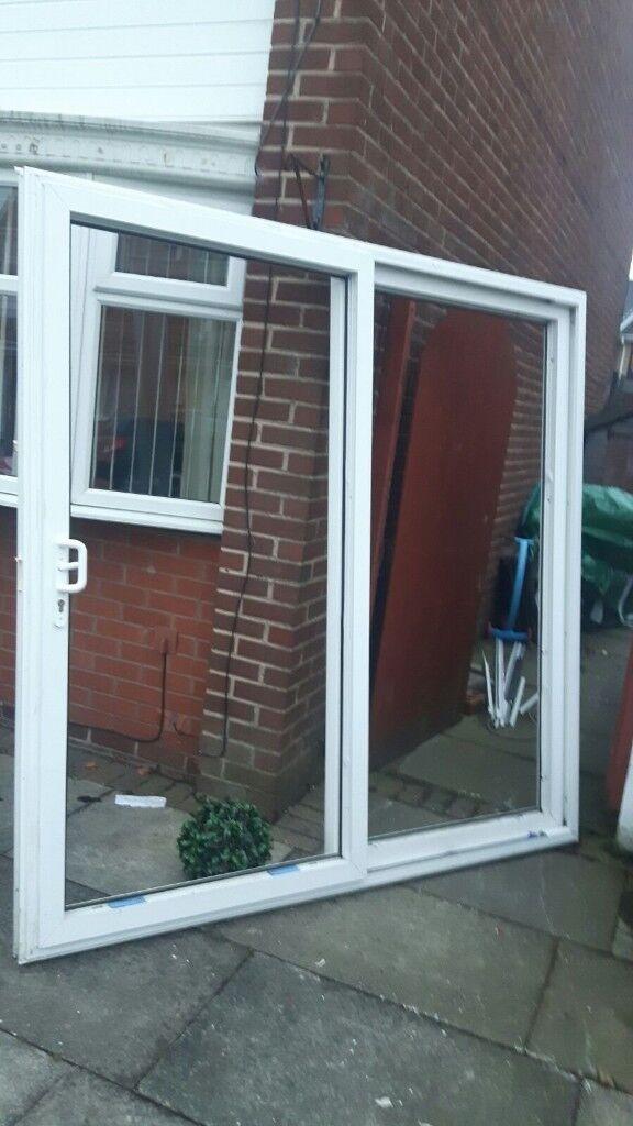 White Upvc Patio Doors In St Helens Merseyside Gumtree