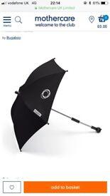 Black Bugaboo parasol