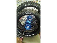 Yamaha wr 250 r / x wheels