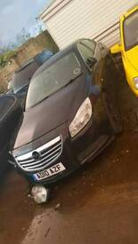 Breaking 2010 Vauxhall insignia for parts