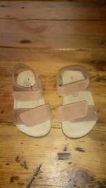 Sandals, size 1