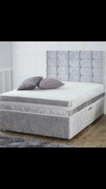 Brand new divan bed and mattress.