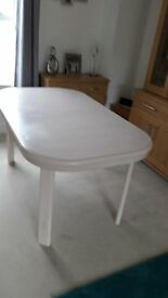 Oval Dining Table extendable