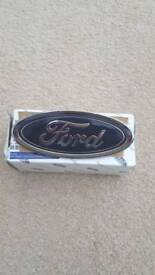 Ford bumper badge