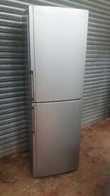 Large Hotpoint Future FFFL1810G Fridge Freezer in silver colour
