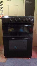 LOGIK 60cm Gas Cooker in new Ex Display