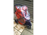 E3 Phill and teds double pushchair with 2xslleping bag and rain cover! Possible deliver!