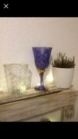 Beautiful handmade goblet